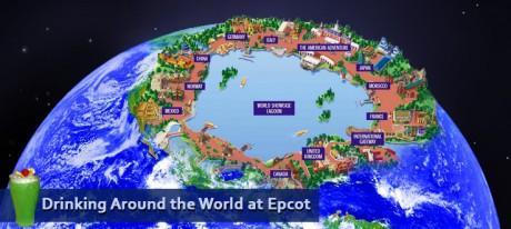 Drinking Around the World Epcot